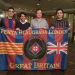 PB London with FC Barcelona representatives Joan Ramon Ramos and Xavier Riero