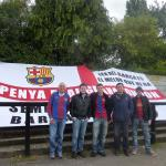 PB London members with our St George's flag
