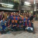 PBL at Philomena for the Spanish Supercup final against At Madrid