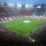 Great athmosphere at the Allianz-Arena