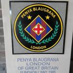 The new PBL plaque