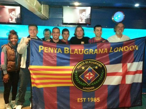 Penya Blaugrana San Francisco visited PBL
