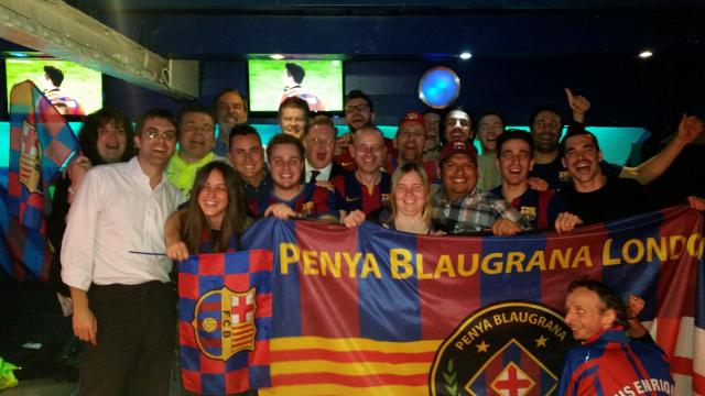 PBL Members celebrating getting through to the Berlin Champions League final