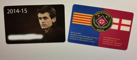 New PBL Membership Cards for 2014-15 season