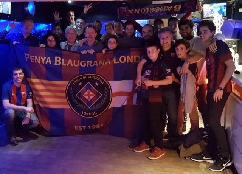La liga title win against Deportivo bar&co