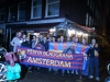 PBL at the penya dinner hosted by Penya Amsterdam, hosted by Pau Vilanova, chief director of the Social Commission