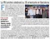 PB London in diari Sport, talking about 30th anniversary