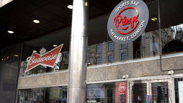 Rileys Sports Bar Haymarket - official PBL premises
